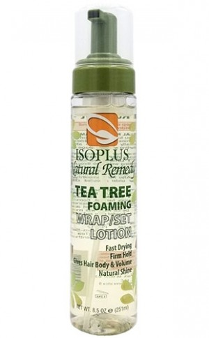 [Isoplus-box#61] Tea Tree Foaming Wrap/Set Lotion(8.5oz)