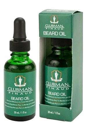[Clubman-box #27] Pinaud Beard Oil (1oz)
