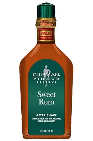 [Clubman-box #19] Pinaud Sweet Rum After Shave(6oz)