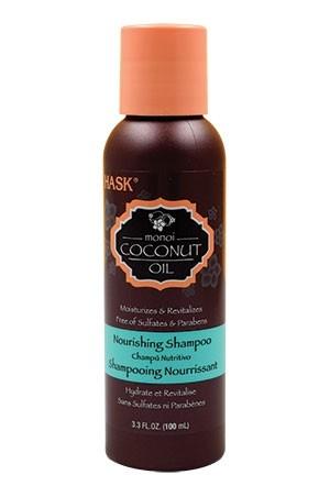[Hask-box #83] Coconut Oil Shampoo-Trevel Size (3.3oz)
