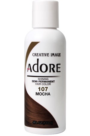 [Adore-box#1] Semi Permanent Hair Color (4 oz)- #107 Mocha
