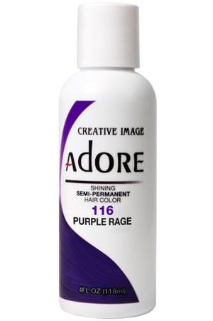 [Adore-box#1] Semi Permanent Hair Color (4 oz)- #116 Purple Rage