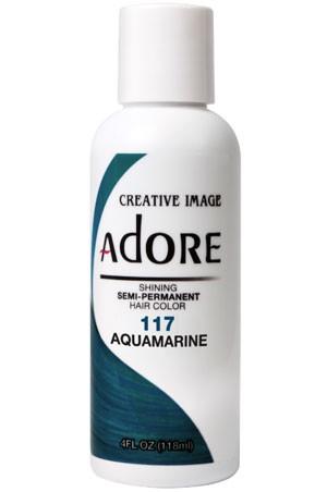 [Adore-box#1] Semi Permanent Hair Color (4 oz)- #117 Aquamarine