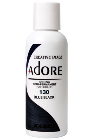 [Adore-box#1] Semi Permanent Hair Color (4 oz)- #130 Blue Black
