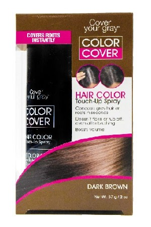 [Cover Your Gray -box#17] Touch Up Spray-Dark Brown(2oz)