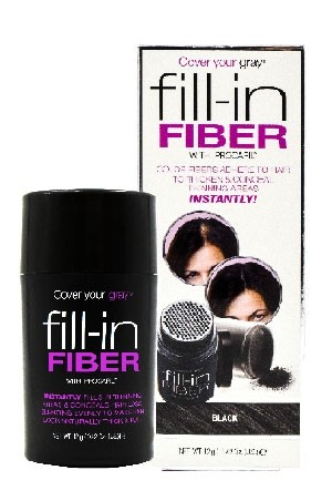 [Cover Your Gray -box#18] Fill-In Fiber-Black(0.42oz)