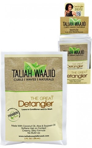 [Taliah Waajid-box#72] Black Earth CWN The Great Detangler(12pc/ds)