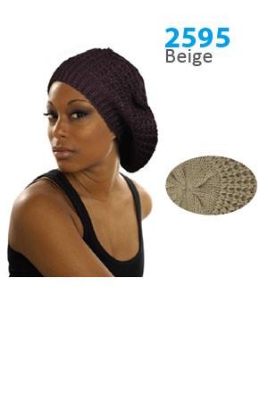 Winter Hat #2595 Beige - pc