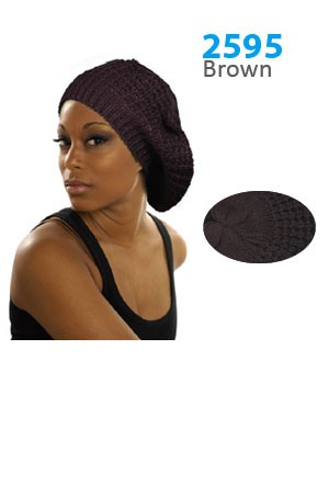 Winter Hat #2595 Brown - pc