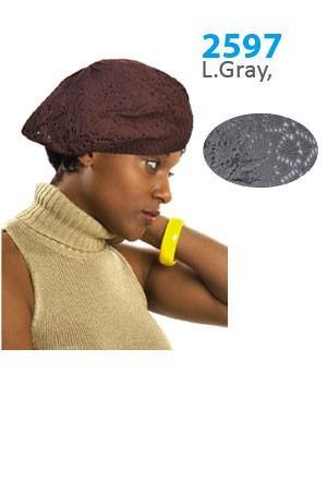 Winter Hat #2597 Light Gray - pc