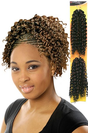 2pcs Curly Braid