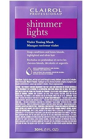 [Clairol-box#23] Shimmer Light Toning Mask(1oz/12pc/pk) -pk