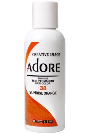 [Adore-box#1] Semi Permanent Hair Color (4 oz)- #38 Sunrise Orange