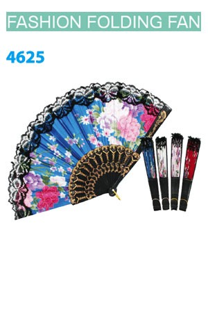 Magic Gold Fashion Folding Fan #4625 - dz