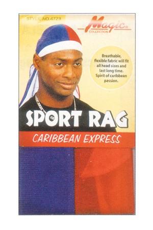 [Magic #4723] Caribbean Express Sport Rag -dz