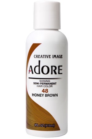 [Adore-box#1] Semi Permanent Hair Color (4 oz)- #48 Honey Brown