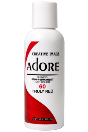 [Adore-box#1] Semi Permanent Hair Color (4 oz)- #60 Truly Red