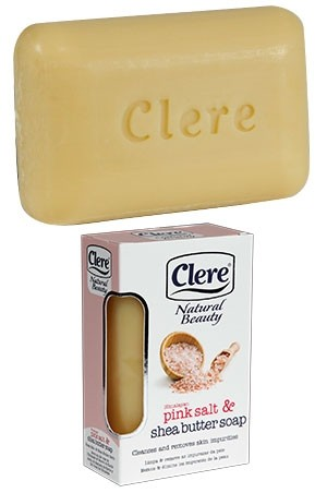 [Clere-box#3] Pink salt & Shea Butter Soap(5.2oz)