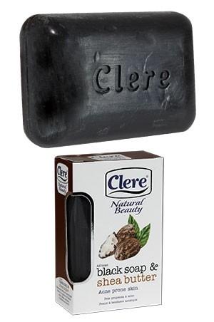 [Clere-box#6] Black & shea Butter Soap(5.2oz)