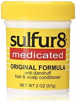 [sulfur8-box#16]  Medicated Hair & Scalp Conditioner (2 oz)