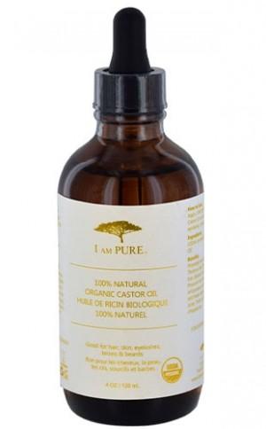 [I Am Pure-box#6] 100% Natural Organic Caster Oil (4oz)