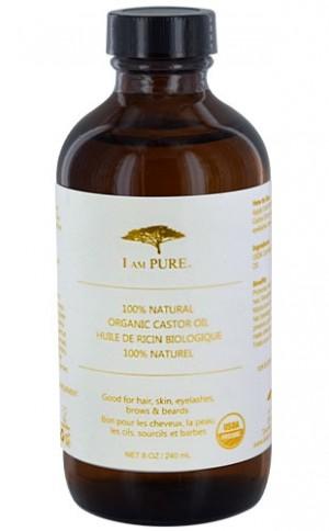 [I Am Pure-box#7] 100% Natural Organic Caster Oil (8oz)