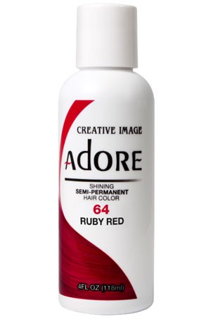 [Adore-box#1] Semi Permanent Hair Color (4 oz)- #64 Ruby Red