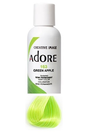 [Adore-box#1] Semi Permanent Hair Color (4 oz)- #163 Green Apple