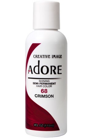 [Adore-box#1] Semi Permanent Hair Color (4 oz)- #68 Crimson