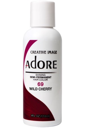 [Adore-box#1] Semi Permanent Hair Color (4 oz)- #69 Wild Cherry
