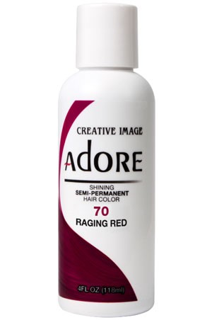 [Adore-box#1] Semi Permanent Hair Color (4 oz)- #70 Raging Red