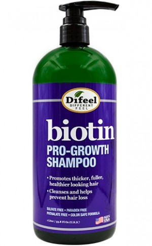 [Sunflower-box#96] Difeel Biotin Pro-Growth Shampoo(33.8oz)