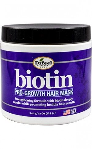 [Sunflower-box#99] Difeel Biotin Pro-Gro Hair Mask (12oz)