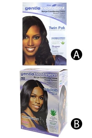 [Gentle Treatment-box#2] No-Lye Relaxer [Twin Pak] - Super- for professional use