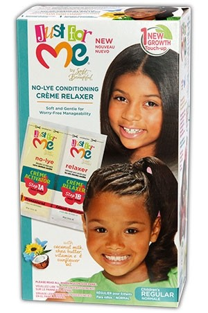 [Just for Me-box#32] No-Lye Conditioning Relaxer(1 Touch-regular)