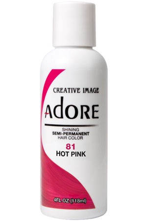 [Adore-box#1] Semi Permanent Hair Color (4 oz)- #81 Hot Pink
