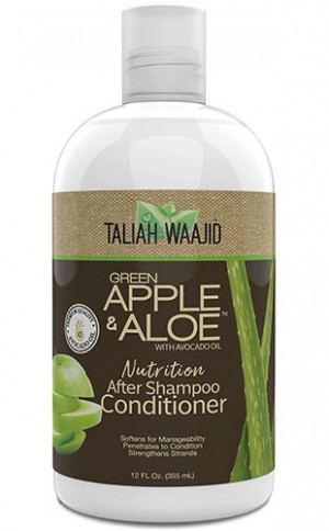 [Taliah Waajid-box#71] Black Apple & Aloe After Shampoo Conditioner(12oz)