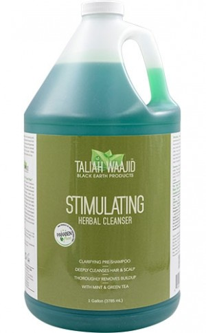 [Taliah Waajid-box#73] Black Earth Stimulating Herbal Cleanser(1gallon)