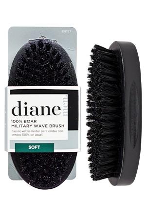 [#D8167] Diane 100% Boar Palm Wave Brush-Soft -pc