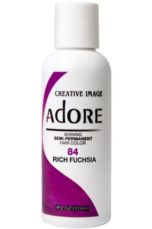 [Adore-box#1] Semi Permanent Hair Color (4 oz)-  #83 Fiesta Fuchsia