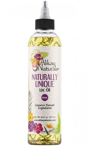 [Alikay Naturals-box#24] Naturally Unique Loc Oil(8oz)