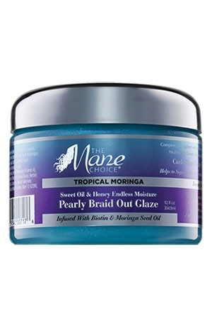 [The Mane Choice-box #53] Tropical Moringa Braid Out Glaze (12oz)