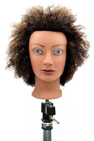 """[#M3824BK] Practice Mannequin Afro 8"""" -pc"""
