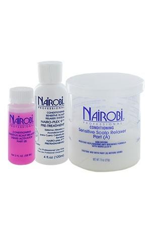 [Nairobi-box#5] Sensitive Scalp Relaxer Kit (4app)