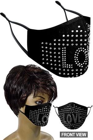 [#99662] Mask -Fashion Mask **FINAL SALE**-dz