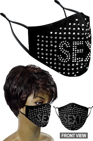 [#99663] Mask -Fashion Mask **FINAL SALE**-dz