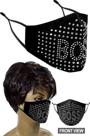 [#99664] Mask -Fashion Mask **FINAL SALE**-dz