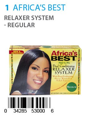 [Africa's Best-box#1] Relaxer System- Regular