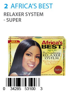 [Africa's Best-box#2] Relaxer System - Super