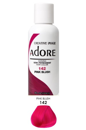 [Adore-box#1] Semi Permanent Hair Color (4 oz)- #142 Pink Blush